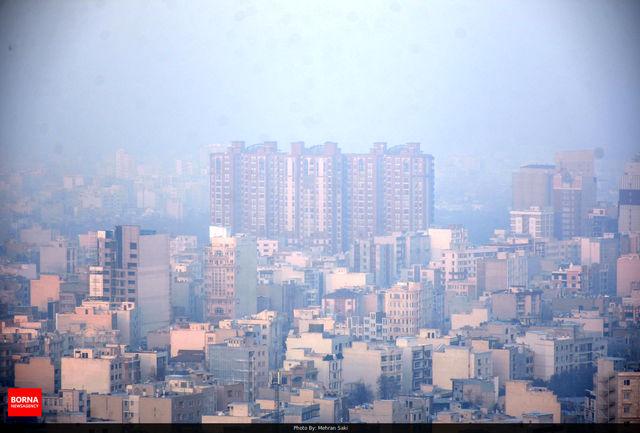 هوای اراک برای هشتمین روز متوالی در شرایط ناسالم قرار گرفت
