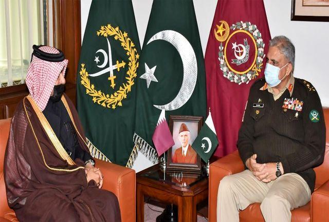 دیدار نماینده ویژه قطر با مقامهای سیاسی و نظامی پاکستان