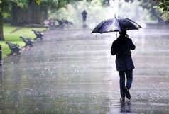 بارش 39 میلی متر باران در قم