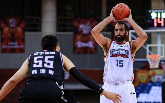 باخت نانجینگ در روز درخشش ستاره بسکتبال ایران