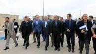 افتتاح تصفیهخانه شهر آشخانه خراسان شمالی با حضور وزیر نیرو