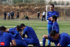 مربی استقلال اتمام حجت کرد+ عکس