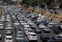 ترافیک هراز سنگین