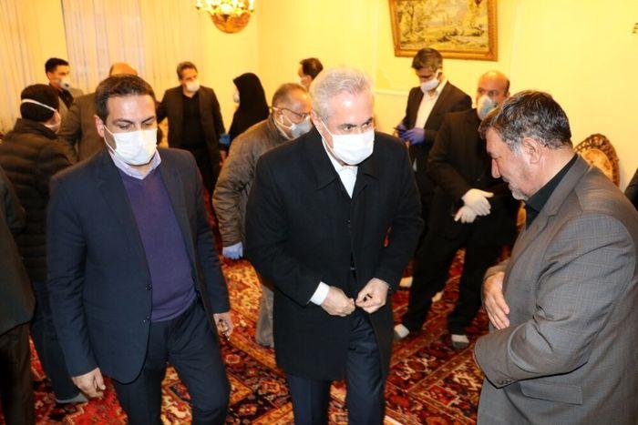 شهید قلیزاده در خط مقدم تمام بحرانها بود