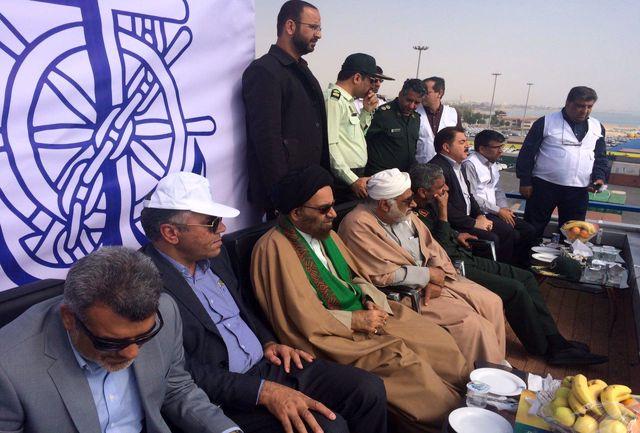 برگزاری مانور بزرگ اطفا حریق در سرزمین مرواریدهای غلتان خلیج فارس