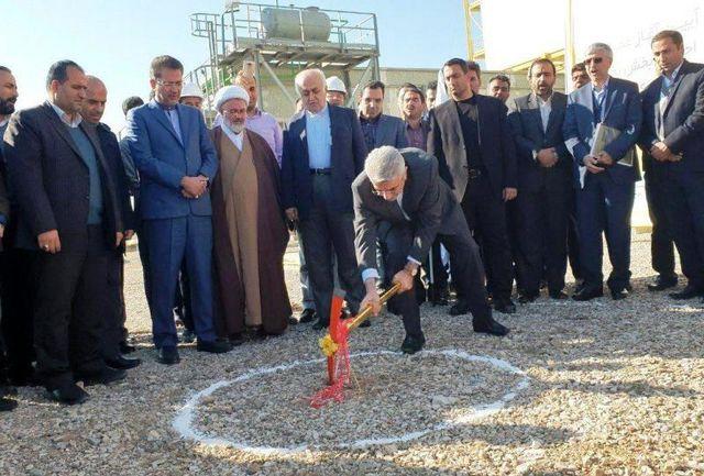آغاز احداث کارخانه ذوب فولاد شاهرود با حضور وزیر نیرو