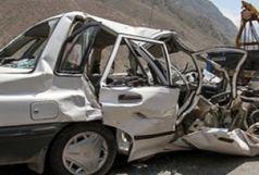 واژگونی پراید با یک کشته  و سه مجروح در پاسارگاد
