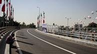 اجرای مراحل نهایی تقاطع بلوار فردوسی و بلوار پیامبر اعظم(ص)