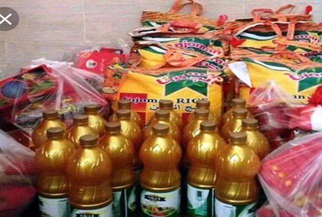 تهیه و توزیع سبد کالا  به مناسبت شب یلدا در بهزیستی شهرستان ملارد