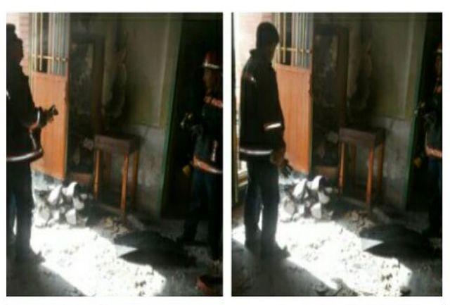 حادثه آتش سوزی مدرسه شبانه روزی ارشاد فاقد خسارت جانی بود
