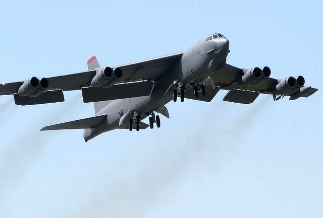 بمب افکنهای استراتژیک آمریکا بر فراز خلیج فارس به پرواز درآمدند