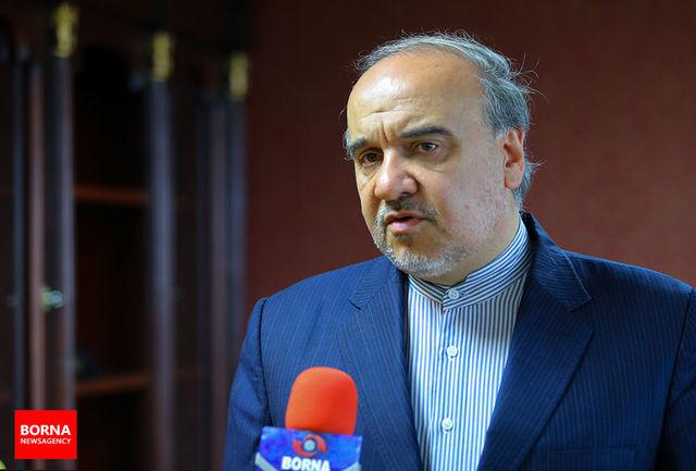 دکتر مسعود سلطانیفر: مسئولان ورزش کشور در شرایط آرمانی و هماهنگی برای نشاط و شادابی مردم کار میکنند/ امیدواریم در رویدادهای مختلف شاهد تداوم افتخارآفرینیها باشیم