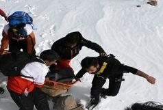 نجات کوهنورد ایرانشهری گرفتار در ارتفاعات تفتان