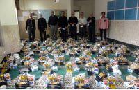 دهمین مرحله از کمک های معیشتی میان نیازمندان قزوین توزیع شد