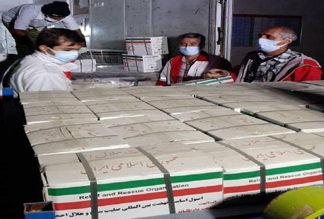 ارسال محموله امدادی بوشهر به مناطق زلزله زده دنا