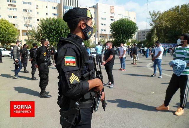 گزارش تصویری از طرح دستگیری اراذل و اوباش در تهران
