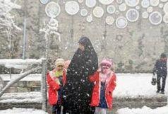 تعطیلی مدارس به علت برف و سرما و کولاک