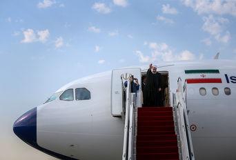 بدرقه رییس جمهوری برای سفر به نیویورک