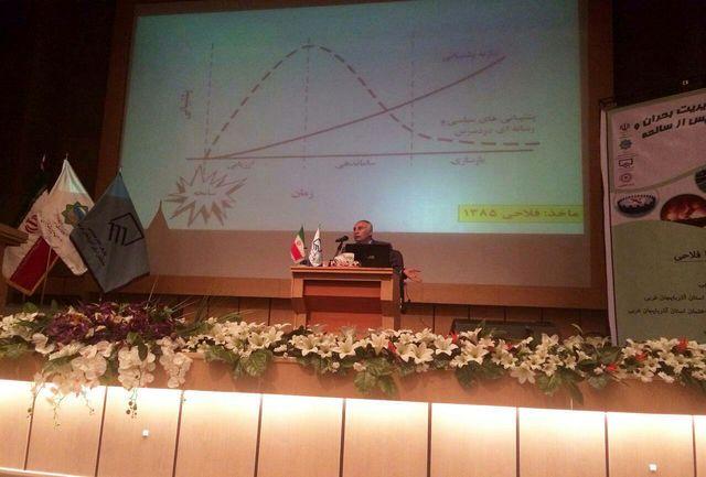 سمینار مدیریت بحران و بازسازی پس از سانحه در ارومیه برگزار شد