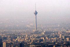 هوای تهران در معرض آلودگی