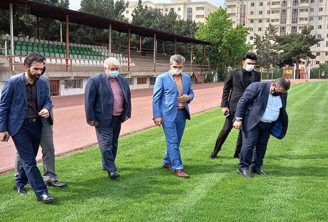 بازدید نمایندگان باشگاه رئال مادرید در خاورمیانه از ظرفیت های بخش ورزشی البرز