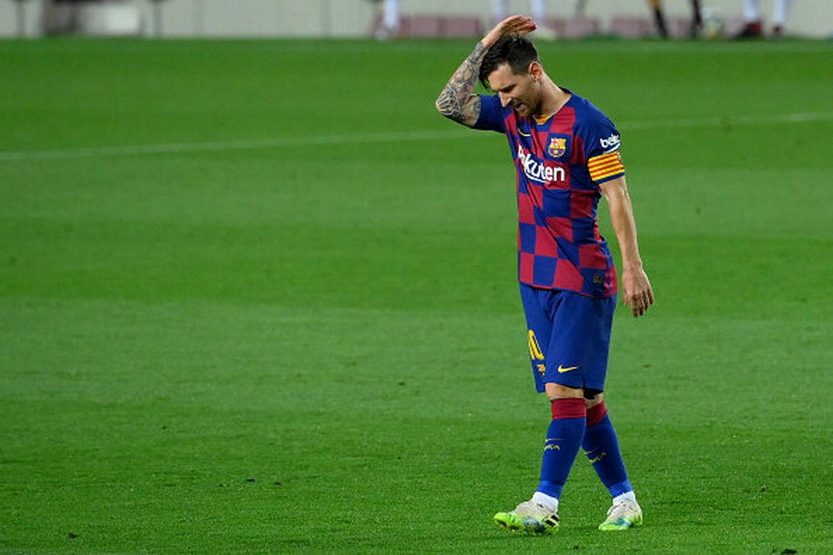 مسی از بارسلونا جدا شد