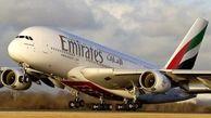 پروازهای امارات به چین تعلیق شد