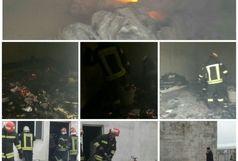 آتش سوزی در دانشکده علوم انسانی دانشگاه آزاد اسلامی