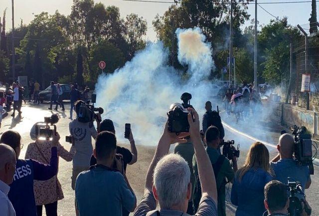 سرکوب خبرنگاران توسط رژیم صهیونیستی در قدس