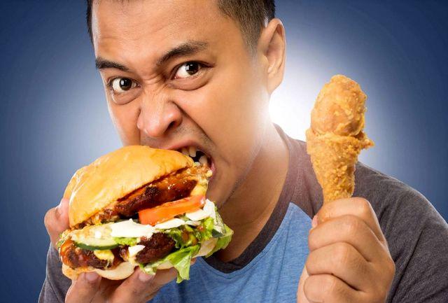 چرا وقتی گرسنه می شویم عصبانی می شویم؟