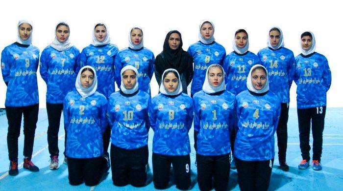 مصاف تیم کبدی دختران شهرداری با حریفان