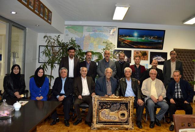 جامعه بزرگ تنیس روی میز ایران با مدیرکل ورزش و جوانان استان تهران دیدار کردند
