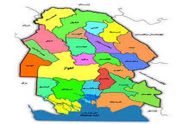 2 شهرستان زرد کرونایی استان خوزستان تا 18 فروردین 1400