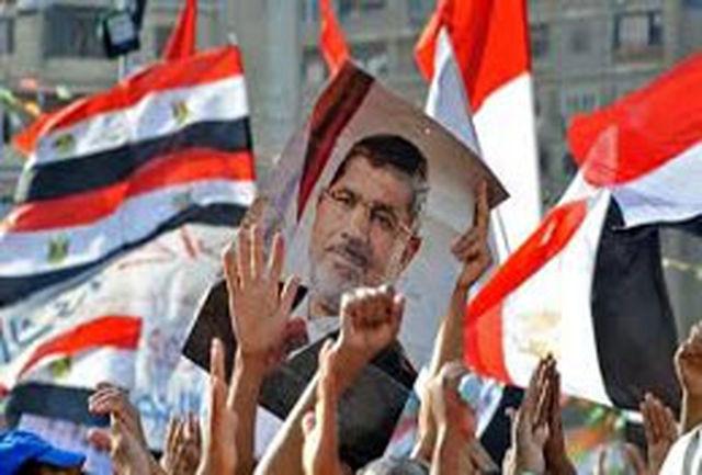 ادامه تظاهرات طرفداران مرسی علیه دولت کودتا