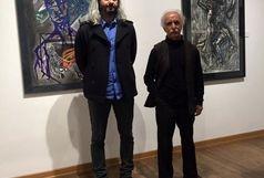 نمایشگاه انفرادی نقاشى فرزاد امینی با عنوان «کتاب مصائب برادرم» تمدید شد
