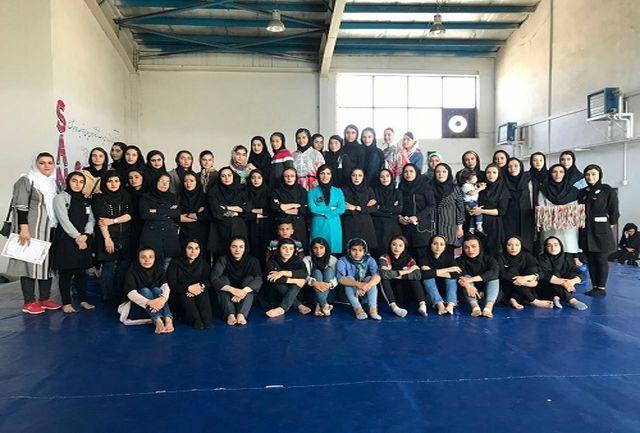 مسابقات انتخابی ووشوی بانوان استان اردبیل  با حضور 50 ورزشکار برگزار شد