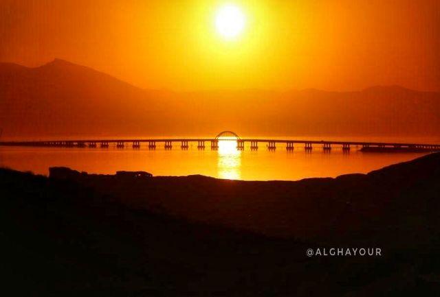 توقف روند کاهش تراز دریاچه ارومیه