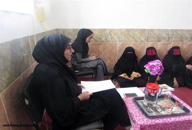 برگزاری کلاس آموزشی تغذیه تکمیلی و سوانح و حوادث به مادران در شهر کوهستک