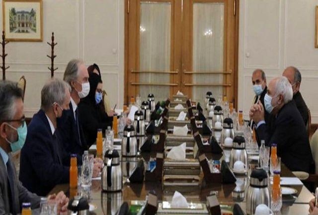 تأکید ظریف بر لغو تحریمهای ظالمانه علیه سوریه