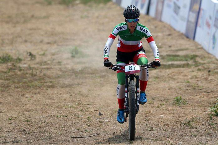 پرتوآذر در جام جهانی دوچرخه سواری سوییس پنجاه و ششم شد