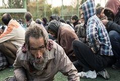 جمع آوری 40 معتاد متجاهر در زنجان
