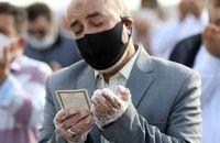برگزاری نماز عید فطر در فضای باز محوطه مصلای حضرت امام خمینی (ره) تبریز و خیابانهای اطراف
