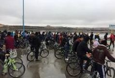 همایش دوچرخه سواری ویژه آقایان در شورابیل اردبیل