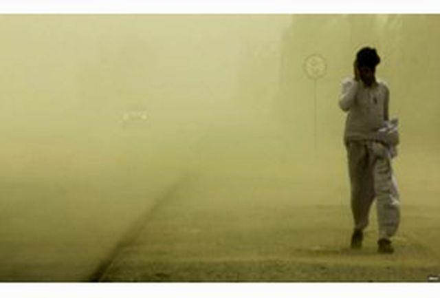طوفان شن 465 سیستان وبلوچستانی را راهی بیمارستان کرد