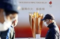 """آغاز مراسم حمل مشعل المپیک با اولویت """"سلامتی"""" افراد"""