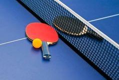 برگزاری مسابقات تنیس روی میز کارمندان دولت در قزوین
