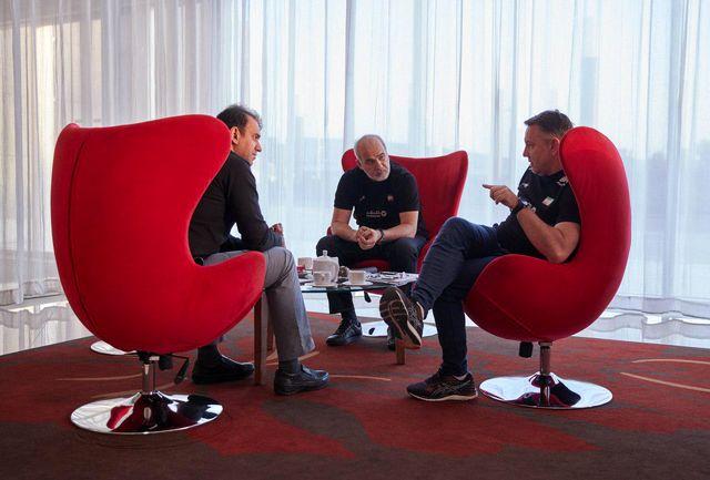 جلسه فتاحی با کولاکوویچ و خوشخبر درباره وضعیت تیم ملی والیبال