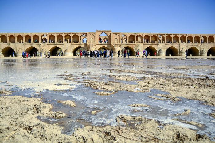 کسری مخزن آب استان اصفهان سالیانه 408 میلیون متر مکعب است