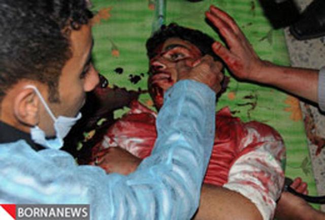 گزارش تصویری / حمله وحشیانه پلیس یمن به تظاهرکنندگان
