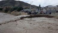 مسدود شدن راه ارتباطی حدود ۴۰روستای جنوب سیستان و بلوچستان بر اثر سیل